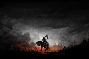Kingdom Come Deliverance Game Artwork Wallpaper
