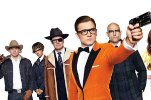 Kingsman The Golden Circle 8k