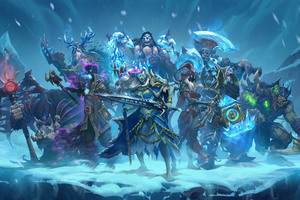 Knights Of The Frozen Throne 8k Wallpaper
