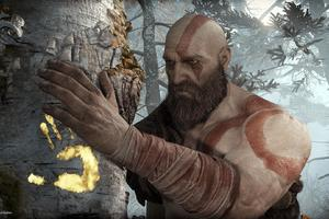 Kratos God Of War 4 Wallpaper