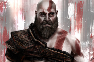 Kratos God Of War 8k Wallpaper