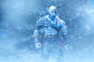 Kratos God Of War Video Game Hd Wallpaper