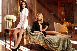 Kristen Stewart And Charlize Theron Wallpaper