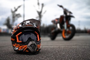 KTM Helmet Wallpaper