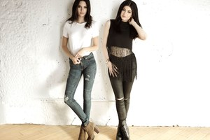 Kylie And Kendall Jenner PacSun Holiday Collection