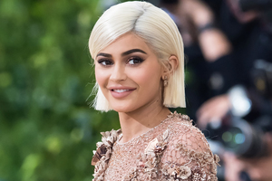 Kylie Jenner Smile Wallpaper