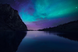 Lake Aurora Wallpaper