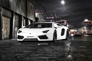Lamborghini Aventador By Capristo Wallpaper