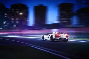 Lamborghini Aventador Motion Blur Wallpaper