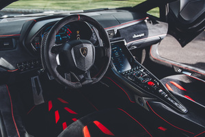 Lamborghini Centenario Coupe Interior Wallpaper