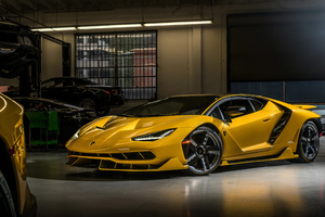 Lamborghini Centenario Coupe Wallpaper