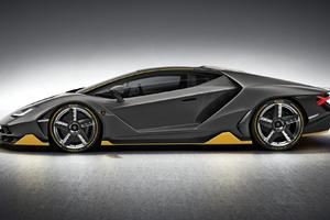 Lamborghini Centenario Side View Wallpaper