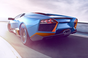 Lamborghini CGI Artwork