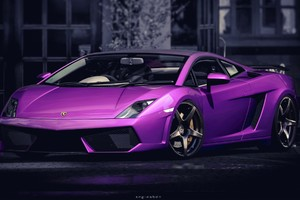 Lamborghini Gallardo Purple