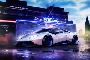 Lamborghini Huracan Liberty Walk Wallpaper