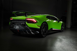 Lamborghini Huracan Performante 2019 Rear 8k