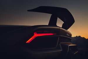Lamborghini Huracan Performante Rear Lights