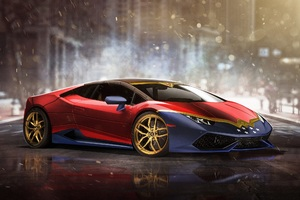 Lamborghini Huracan Wonder Woman Wallpaper