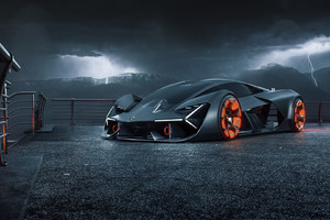 Lamborghini Terzo Millennio Digital Art 2019 Wallpaper