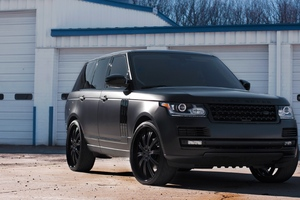 Land Rover Black Matte