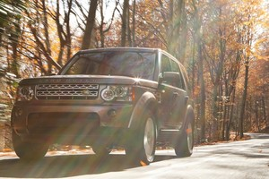 Land Rover Discovery Photography