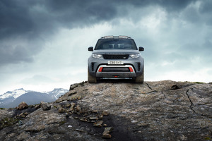 Land Rover Discovery SVX 2018 Wallpaper