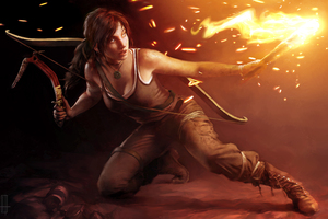 Lara Croft 5k Wallpaper