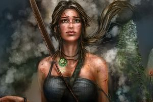 Lara Croft Artworks 5k Wallpaper