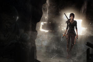 Lara Croft Game 4k Wallpaper