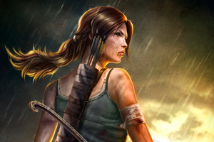 Lara Croft Tomb Raider 4k Artwork Wallpaper