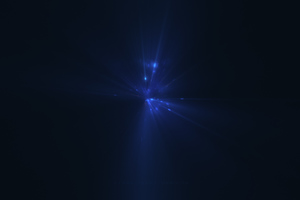 Last Blue Light Digital Art 5k Wallpaper