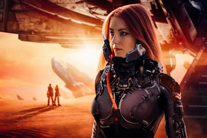 Laureline Cosplay In Valerian And The City Of A Thousand Planets 4k