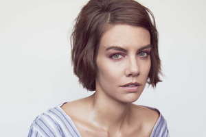 Lauren Cohan The Walking Dead Photoshoot Wallpaper