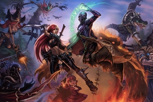 League Of Legends Fantasy Artwork 8k Wallpaper