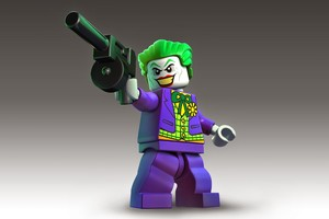 Lego Joker Wallpaper