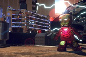 Lego Superheroes Iron Man Wallpaper