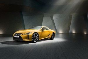 Lexus LC 500h Yellow Edition 2018 Wallpaper