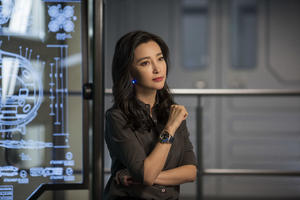 Li Bingbing At Meg Movie