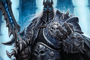 Lich King World Of Warcraft 4k 5k