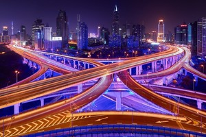 Light Trails Wallpaper