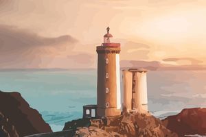 Lighthouse Artistic Wallpaper