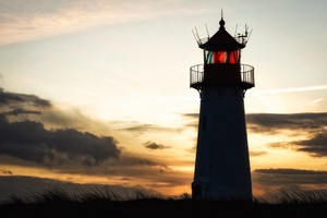 Lighthouse Building Sky Wallpaper