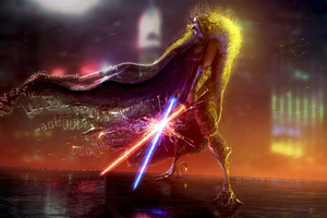 Lightsaber Star Wars Artwork Wallpaper