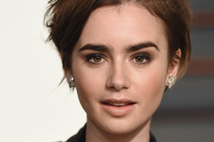 Lily Collins 2018 4k Wallpaper