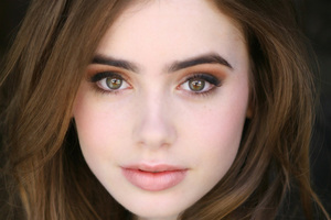 Lily Collins HD 2017 Wallpaper