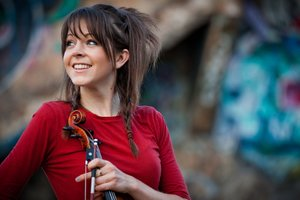 Lindsey Stirling Cute Wallpaper