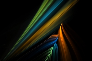 Line Colorful Shape Light Shadow Wallpaper