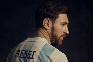 Lionel Messi 2018 Wallpaper