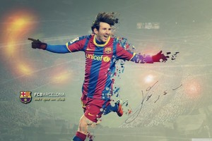 Lionel Messi FCB Wallpaper