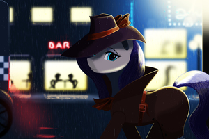 Little Pony Detective Wallpaper